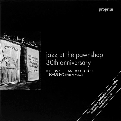 Jazz at the pawnshop 30th anniversary